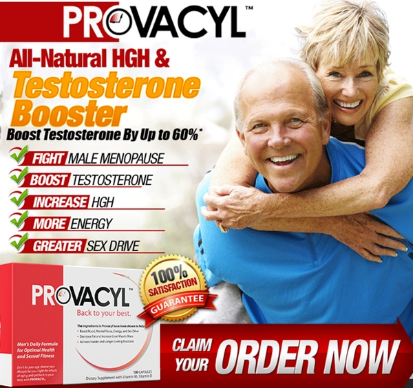 Provacyl - Male HGH Releaser & Testosterone Booster Mens Health Discount